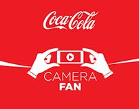 Coca-Cola Football Camera Fan
