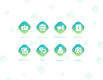 Servizing - Icons Design
