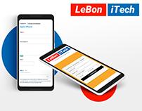 Lebonitech - site internet