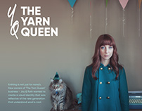 The Yarn Queen - Visual Identity