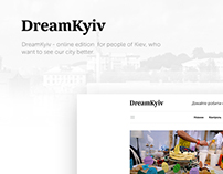 DreamKyiv - online edition for people of Kiev