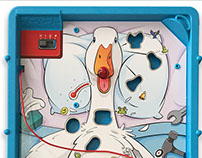Aflac branded Operation game