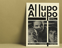 Tribute movie poster - Al lupo al lupo - Carlo Verdone