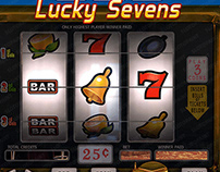"""Online Slot game for SALE - """"Lucky Sevens"""""""