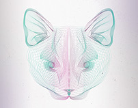 Animal Wireframe Posters