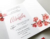 Invitación Alondra