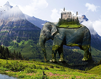 Surreal Elephant