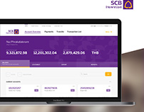 SCB Business Banking - Concept UI