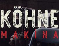 Free Kohne Makina Textured Font