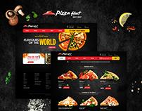 Pizza Hut Desktop Website