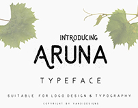 Freebie of the Week: The Free Aruna Typeface