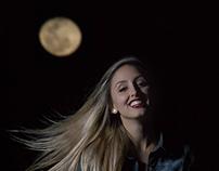 A Lua e Fernanda