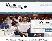 Ta'atheer - Website Design