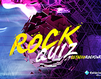 """Rock Quiz"" Visual Identity - Rock in Rio"