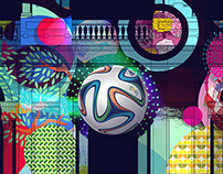 Adidas Brazuca Launch FIFA World Cup