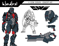 Bloodlust 4 comic concept arts