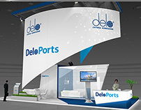 DeloPorts exhibition stand