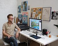 Sam Kalda - In The Studio