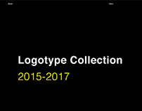 Logotype collection 2015- 2017