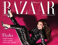 Thalia for HARPER'S BAZAAR VT