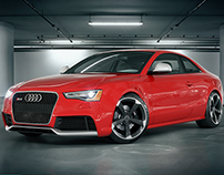 Audi RS5 3D Render