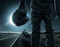 BMW Gs Triple Black - Adv Campaign