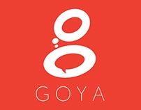 Logo design for Goya - PR Company