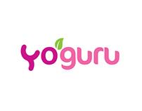 Yoguru - Logo Options