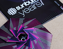 CD Cover Design - Sunburn Festival