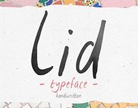 Lid typeface