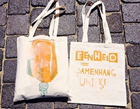 Canvas Bag Zeefdruk