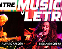 Poster | Entre Música y Letras