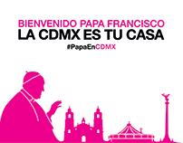 Campaña Papa CDMX