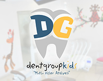 Dentgroup Kids Branding