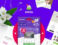 Revoltosa - Responsive Multipurpose Email Template