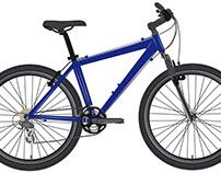 Bicicleta Adobe Illustrator