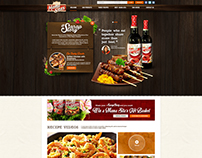 Mama Sita's Website Design