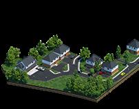 Housing estate of single-family houses VR
