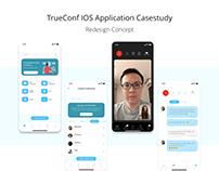 TrueConf IOS Application Case study - Redesign Concept