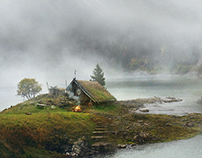 Matte Painting - Solitary