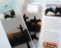 Hidden Meadow Ranch Brochure & Poster