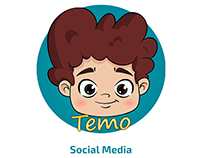 Temoland APP - Social Media Design