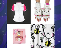 Bee and Puppycat Apparel for WeLoveFine