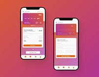 Credit Card Checkout Mobile UI Design