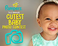 GEM/Pampers Cutest baby contest 2016