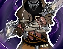 REAPER, Blizzard Entertainment's® - VECTOR ILLUSTRATION