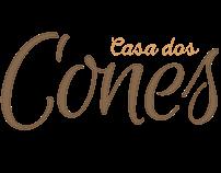 Logotipo e Etiqueta Casa dos Cones