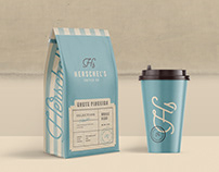 Herschel's Coffee Co Branding