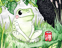 Relax Frog