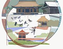 Collage Kanazawa sights and sounds